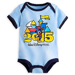 Mickey Mouse Bodysuit for Baby - Walt Disney World 2015