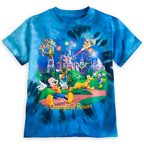 mickey mouse and friends storybook tie dye for boys