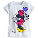 Minnie and Mickey Mouse Tee for Girls - Disneyland
