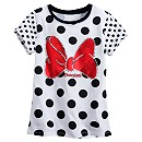 Minnie Mouse Polka Dot Tee for Girls - Disneyland