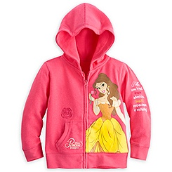 Belle Hoodie for Girls - Disneyland