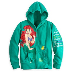 Ariel Hoodie for Girls - Disneyland