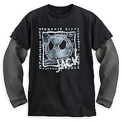 Jack Skellington Long Sleeve Tee for Boys