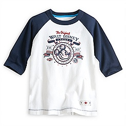 Mickey Mouse Raglan Tee for Boys - Walt Disney World