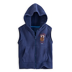 Mickey Mouse ''71'' Sleeveless Zip Hoodie for Boys - Walt Disney World
