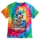 Sorcerer Mickey Mouse Tie-Dye Tee for Kids - Walt Disney World 2016