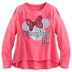 Minnie Mouse Sequin Long Sleeve Top for Girls - Disneyland