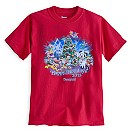 Santa Mickey Mouse and Friends Holiday 2015 Tee for Kids - Disneyland