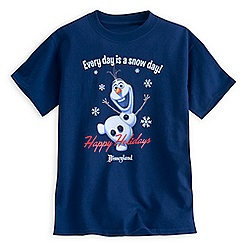 Olaf Holiday Tee for Kids - Disneyland