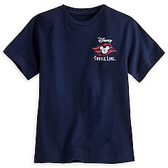 Disney Cruise Line Logo Tee for Boys - Blue