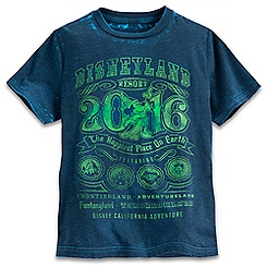 Disneyland 2016 Burnout Tee for Kids