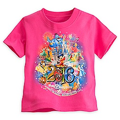 Sorcerer Mickey Mouse Storybook Tee for Toddler Girls - Walt Disney World 2016