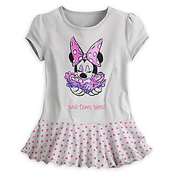 Minnie Mouse Skirted Tee for Girls - Walt Disney World