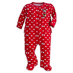 Minnie Mouse Stretchie Sleeper for Baby - Walt Disney World