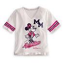 Minnie Mouse Varsity Tee for Girls - Walt Disney World