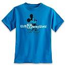 Mickey Mouse Tee for Boys - Walt Disney World - Blue