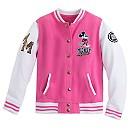 Mickey Mouse Varsity Jacket for Girls - Walt Disney World