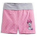 Minnie Mouse Gingham Waist Shorts for Girls