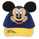 Mickey Mouse Baseball Cap for Kids - Blue/Gold