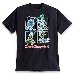 Mickey Mouse and Friends Glow in the Dark Tee for Boys - Walt Disney World