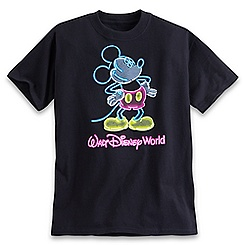 Mickey Mouse Glow in the Dark Tee for Boys - Walt Disney World