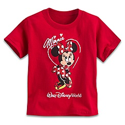 Minnie Mouse Glitter Tee for Toddlers - Walt Disney World