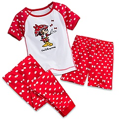 Minnie Mouse Three-Piece Pajama Set for Girls - Walt Disney World