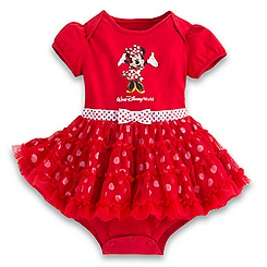 Minnie Mouse Ruffled Bodysuit for Baby  - Walt Disney World