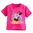 Minnie Mouse ''My First Minnie T-Shirt'' Tee for Baby - Walt Disney World