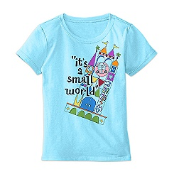 ''it's a small world'' Anniversary Tee for Girls - Limited Release