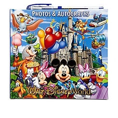 Storybook Walt Disney World Autograph Book and Photo Album