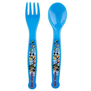 Disney Storybook Attractions Magic Kingdom Flatware Set -- 2-Pc.