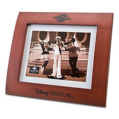 Bowed Disney Cruise Line Picture Frame -- 8'' x 10''