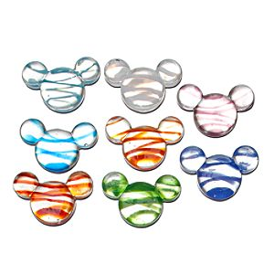 Color Fusion Glass Mickey Mouse Icon Set -- 8-Pc.