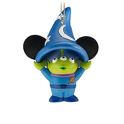 Figurine Sorcerer Hat Space Alien Ornament