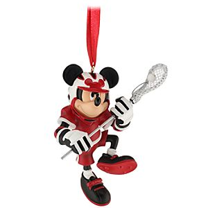 Lacrosse Mickey Mouse Ornament