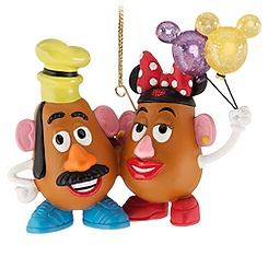 Figurine Mrs. Potato Head and Mr. Potato Head Ornament
