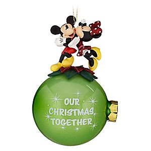 Our Christmas Together Minnie and Mickey Mouse Ornament