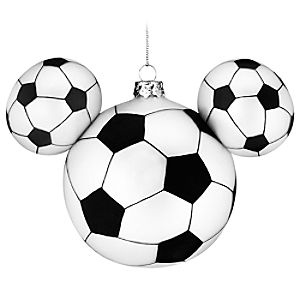 Soccer Icon Mickey Mouse Ornament
