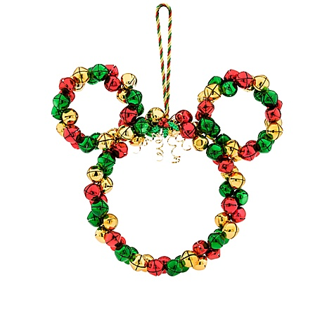Jingle Bells Mickey Mouse Wreath