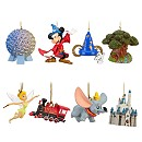 Resort Icons Walt Disney World Ornament Set -- 8-Pc