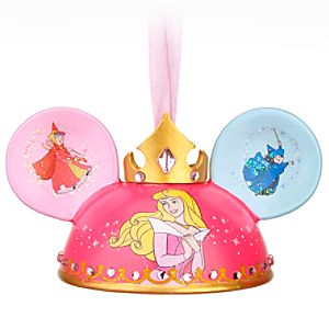 Sleeping Beauty Ear Hat Ornament