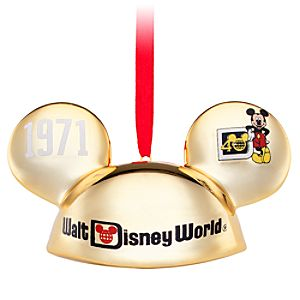 40 Years of Magic Walt Disney World Ear Hat Ornament