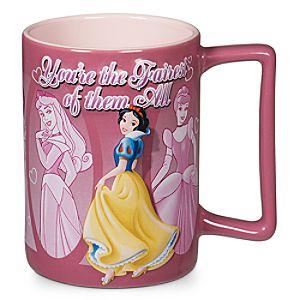 Fairest of Them All Disney Princess Mug