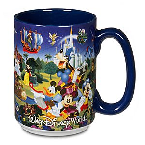 Disney Storybook Attractions Mug
