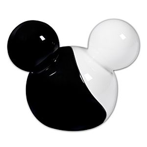 Black and White Mickey Mouse Salt and Pepper Shaker Set -- 2-Pc.
