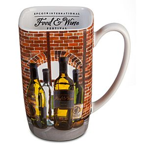 Epcot International Food & Wine Festival Mug