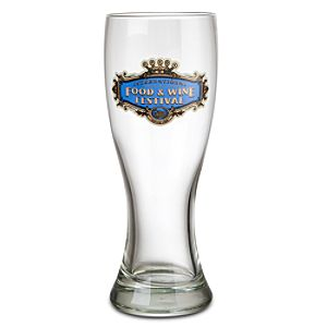 Epcot International Food and Wine Festival Pilsner Glass