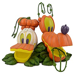 Light-up Donald Duck and Pluto Jack O'Lantern