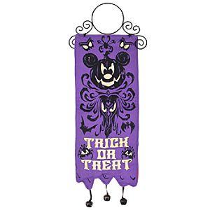 Haunted Mansion Halloween Mickey Mouse Door Hanger
